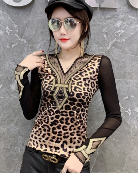 Slim fashion bottoming shirt autumn tops for women