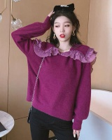 White France style pullover sweater for women