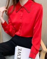 Fashion long sleeve shirt autumn Western style tops for women