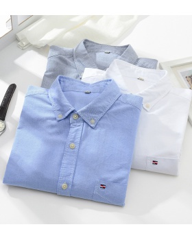 Cotton washed business all-match autumn Casual shirt