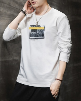 Round neck bottoming shirt T-shirt for men