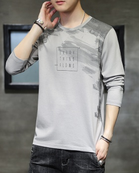 Fashion T-shirt all-match bottoming shirt for men
