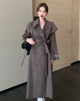 France style woolen temperament coat fashion Casual shawl