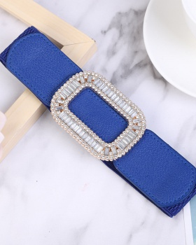 Fashion down coat elastic belt for women