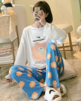 Long sleeve Korean style pajamas a set
