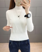 Knitted sweater bottoming shirt for women