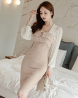 Fashion package hip splice temperament dress for women