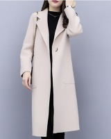 Imitation of cashmere overcoat woolen coat for women