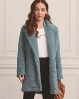 Villus faux fur tops autumn and winter coat for women