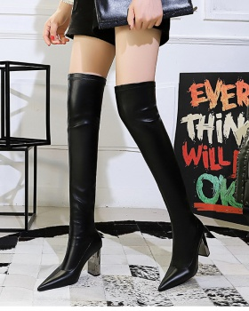 Pointed slim sexy exceed knee fashion thigh boots