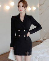 Pin package hip business suit slim autumn and winter dress