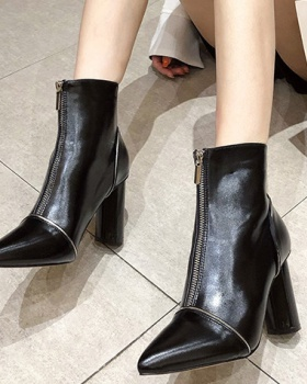 Sexy high-heeled women's boots fashion martin boots