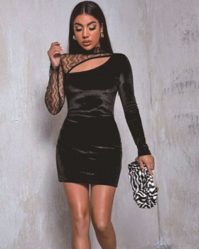 Sexy European style slim dress for women