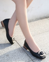 Flat large yard low fashion shoes for women
