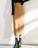 Simple package hip skirt autumn and winter long skirt