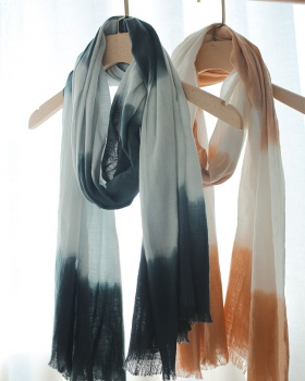 National style sunscreen scarves cotton linen shawl