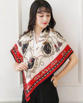 European style all-match shawl silk cheongsam