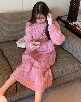 Winter bottoming shirt Korean style sweater 2pcs set