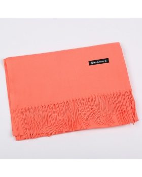 Monochrome thermal shawl twill all-match scarves