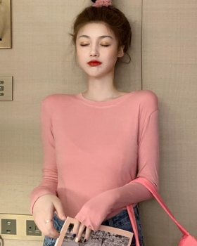 Autumn and winter T-shirt bottoming shirt for women