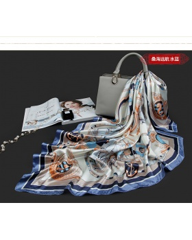 Scarf generous imitation silk scarves for women