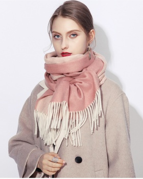 All-match wool scarves British style unisex shawl