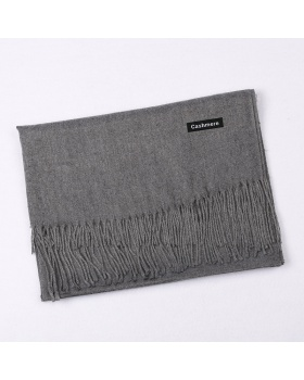 Autumn and winter monochrome scarves all-match shawl