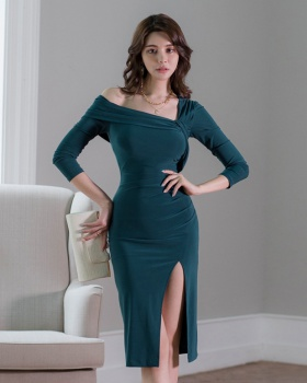 Package hip sexy temperament ladies slim dress