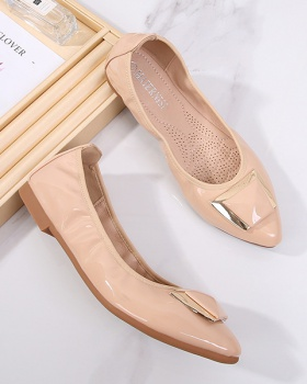 Fashion and elegant college style shoes low peas shoes for women