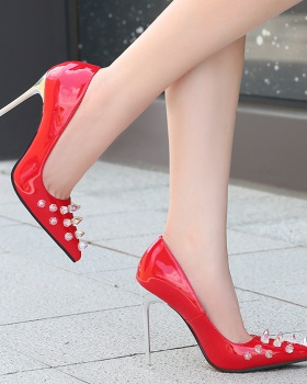 Large yard high-heeled shoes nightclub shoes for women