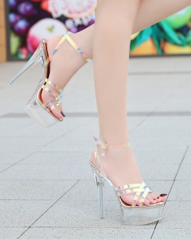 Cross sweet sandals fashion summer shoes for women