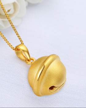 Gold pendant child baby gift creative necklace