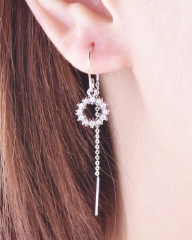 Sweet long personality earrings for women