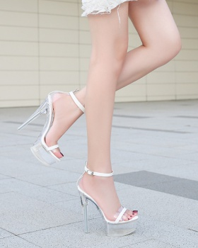 Pole dancing nightclub sandals high-heeled shoes for women