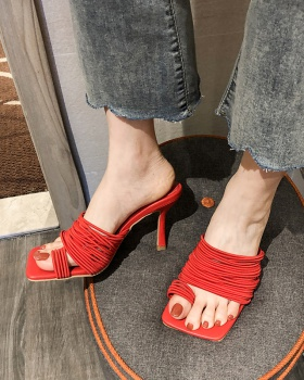 Summer all-match shoes fashion high-heeled shoes for women