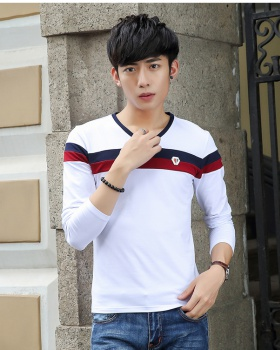 Autumn and winter bottoming shirt youth T-shirt for men