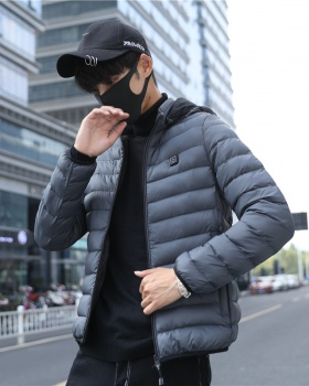 Thin short coat white Korean style hat for men