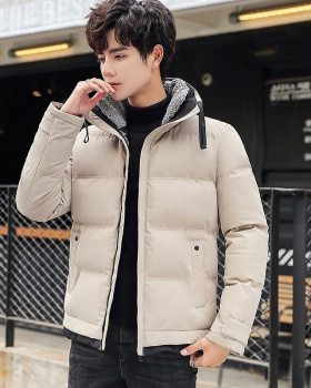 Korean style winter coat slim cotton work clothing for men