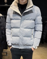 Korean style coat cotton coat for men