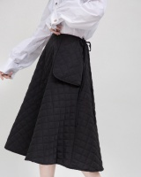 Maiden large pockets lovely autumn and winter cotton skirt
