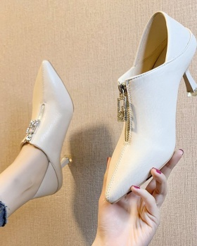 Pointed Korean style stilettos fashion autumn shoes for women