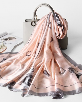 Long all-match scarves printing Korean style shawl for women