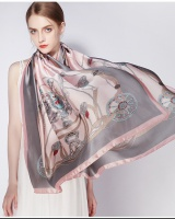 Printing long scarves Korean style all-match shawl