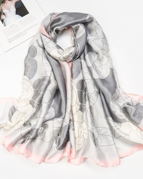 Printing long shawl Korean style all-match scarves