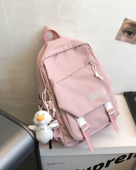 Nylon Korean style schoolbag fashion travel backpack