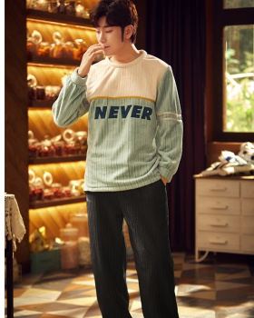 Thermal at home homewear all-match pajamas a set for men