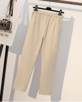 Thick fat large yard Western style pants for women