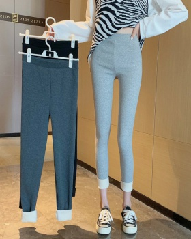 Casual all-match pencil pants elasticity leggings for women
