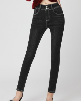 Autumn and winter pencil pants jeans for women