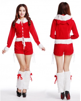Show stage christmas costumes perform party clothing